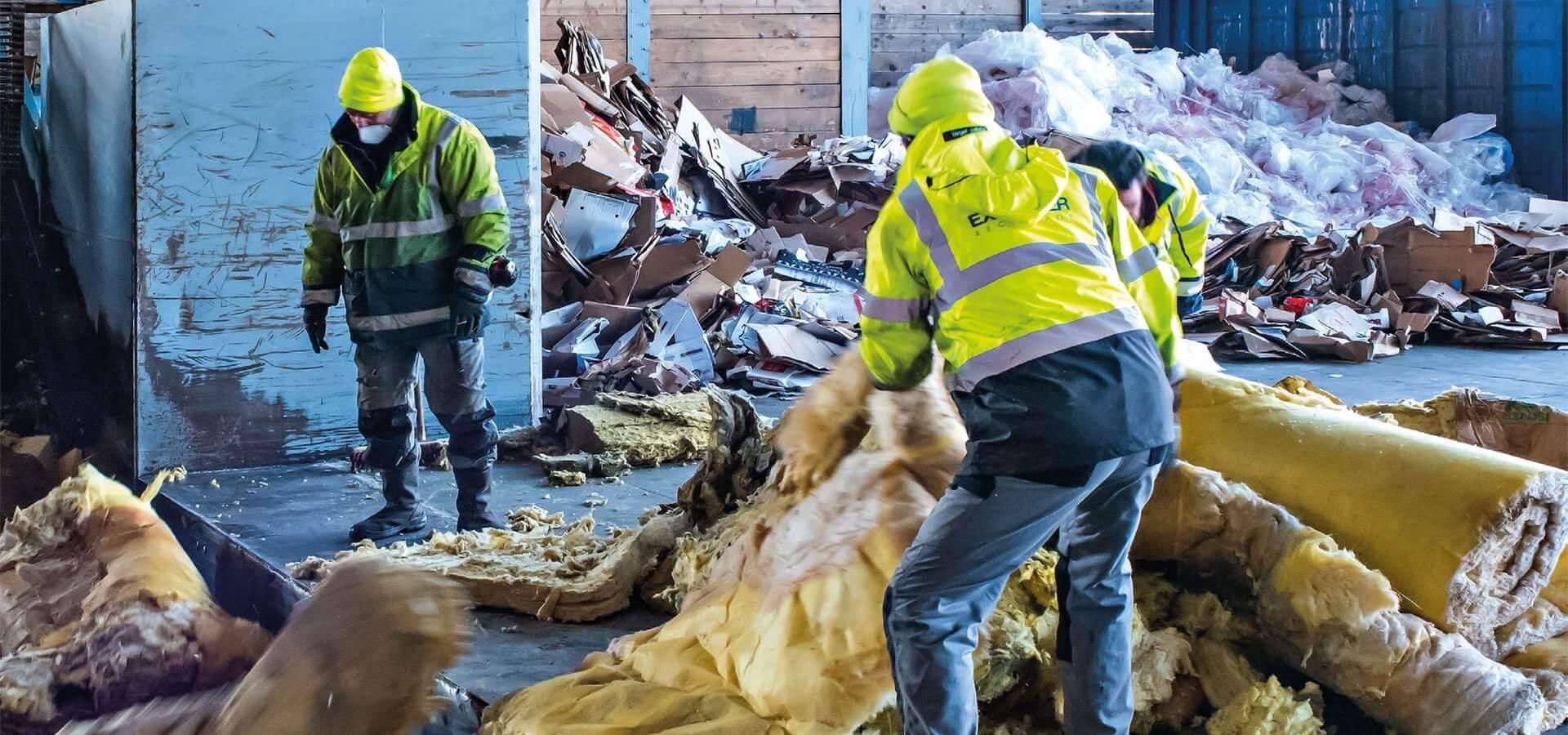 Sclavo environnement groupe pilote de la nouvelle fili re for Laine de verre recyclage